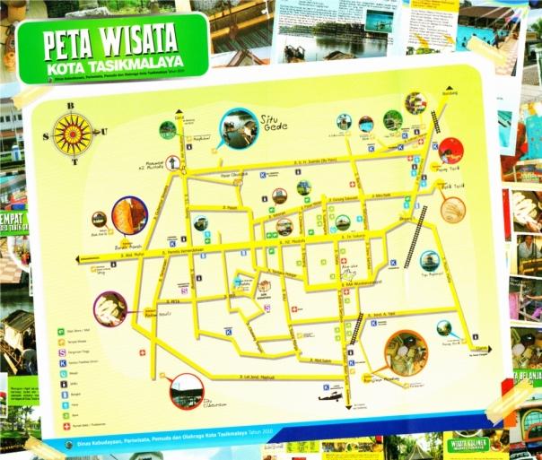 peta wisata kota tasikmalaya