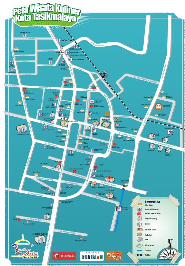 Peta Kuliner Tasikmalaya